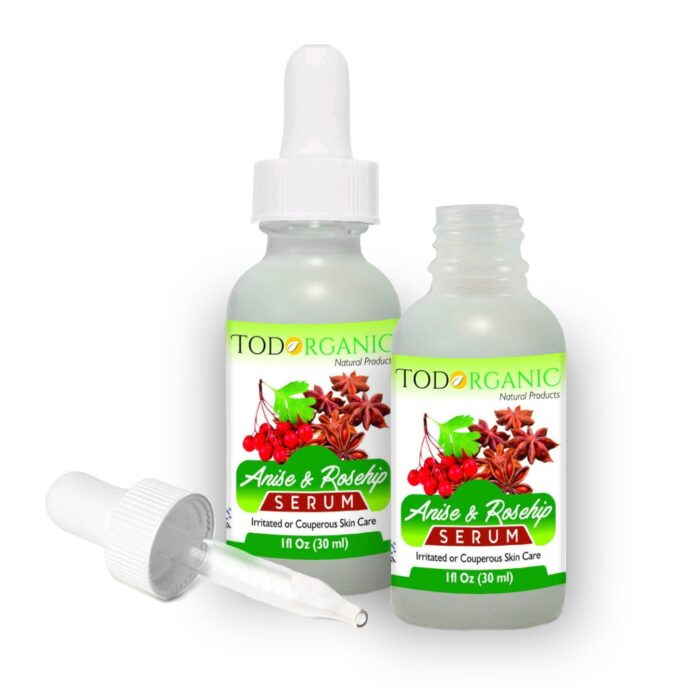 Anise & Rosehip Serum, Best Anti Aging Skin