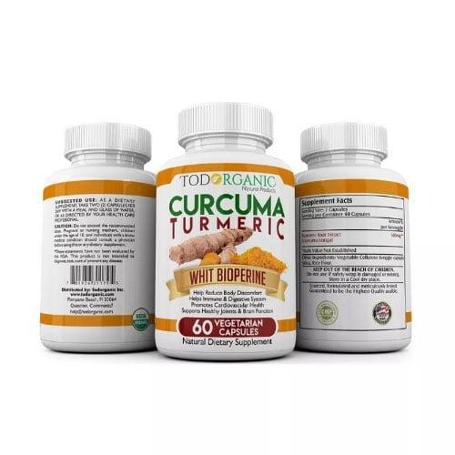 Tumeric-Cúrcuma Potente Antiinflamatorio