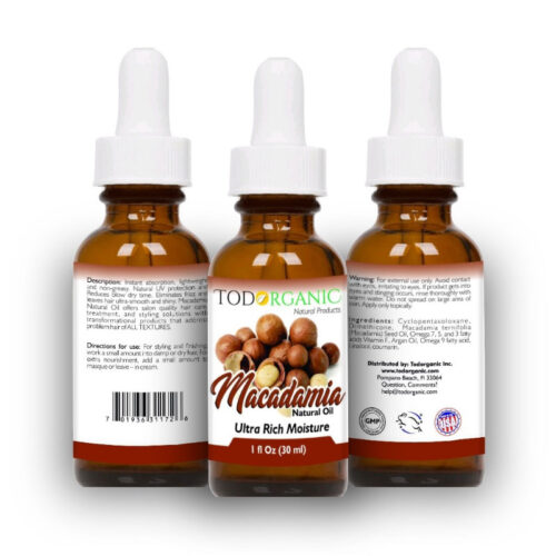 Virgin Macadamia Oil 100% Pure