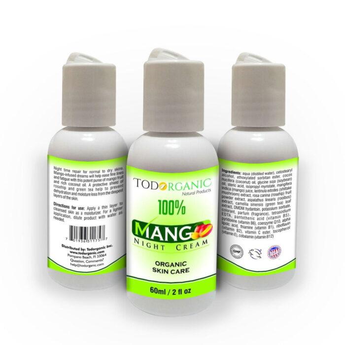 Mango Night Cream 2oz, Body Lotions