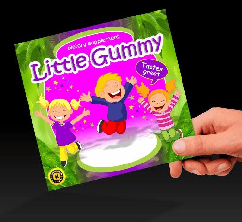 Mega-multivitamin Strawberry - Kids Vitamins