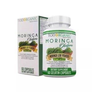 Moringa Oleifera Capsules, Rich Antioxidant
