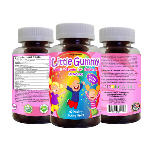 Children Vitamins Multi-Vitamin Strawberry