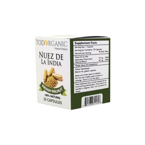 Nuez de la India Capsules Extract (Indian Walnut)