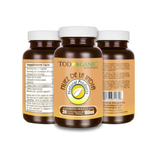 Nuez de la India Capsules Improved Formula