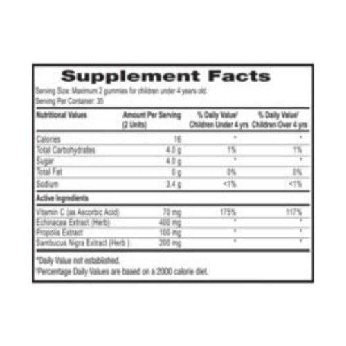 Kids vitaminsPropolis & Echinacea Raspberry
