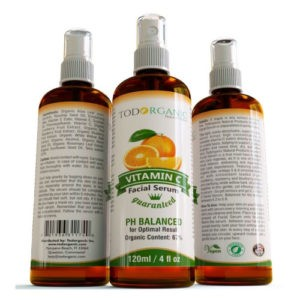 Vitamin C Facial Serum 4oz Cream