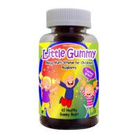 Vitaminas para Niños Mega-multivitamínico con Sabor a Frambuesa