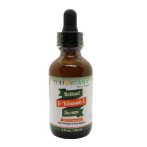 Suero Facial de Retinol y Vitamina C 2oz