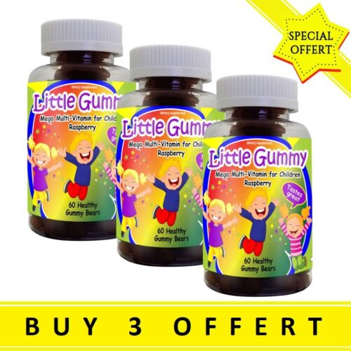 Mega-multivitamin for Kids with Strawberry Flavor