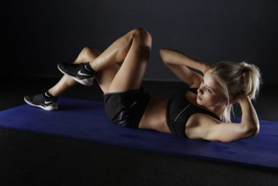 Abdominals to work the obliques