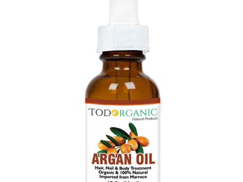 Organic Argan Oil for Hair, Skin, & Nail