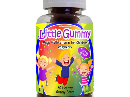 Mega-multivitamin Raspberry, Kids Vitamins