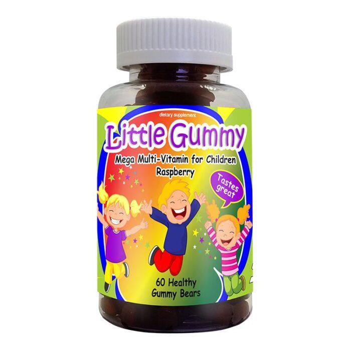 Mega-multivitamin Raspberry, Kids Vitamins