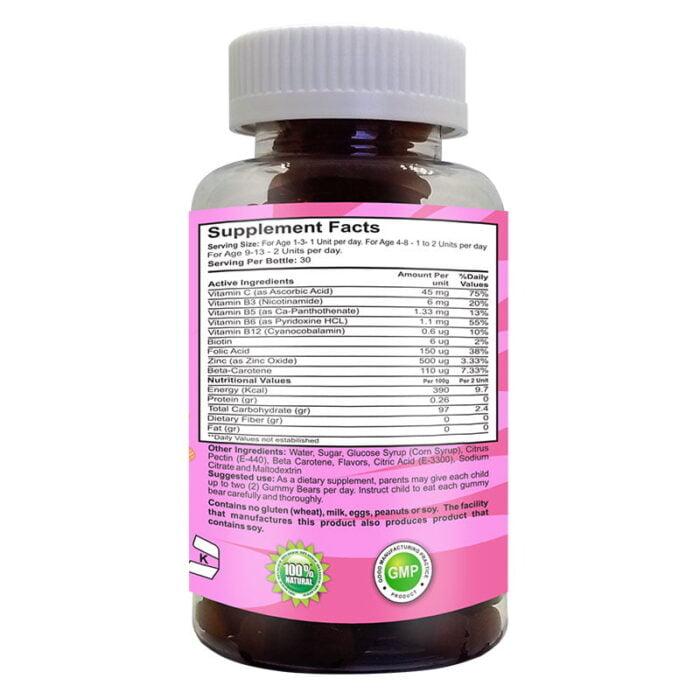 multivitaminas para ninos sabor a fresas 2 1