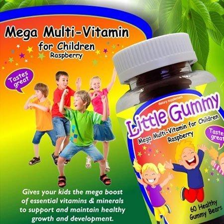 Mega multivitamínico para niños